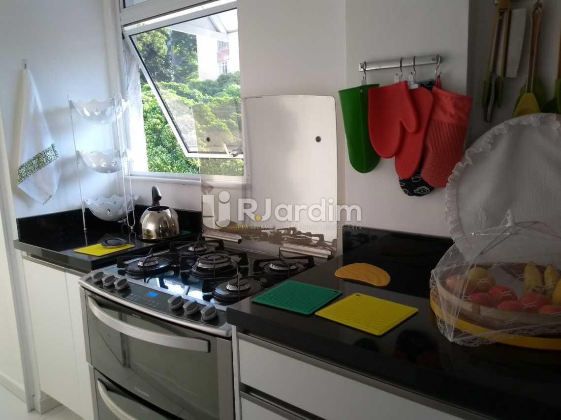 cozinha  - Cobertura À VENDA, Leblon, Rio de Janeiro, RJ - LACO30227 - 25