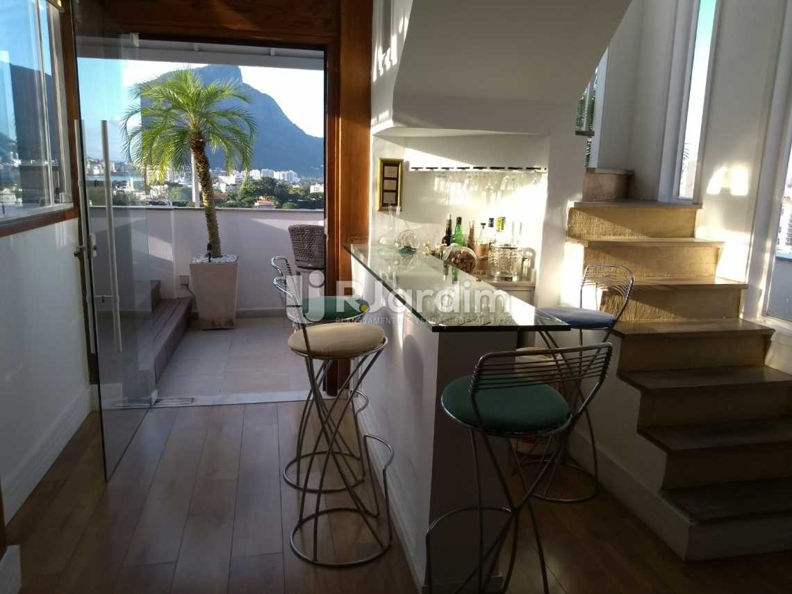 sala/varanda - Cobertura À VENDA, Leblon, Rio de Janeiro, RJ - LACO30227 - 13