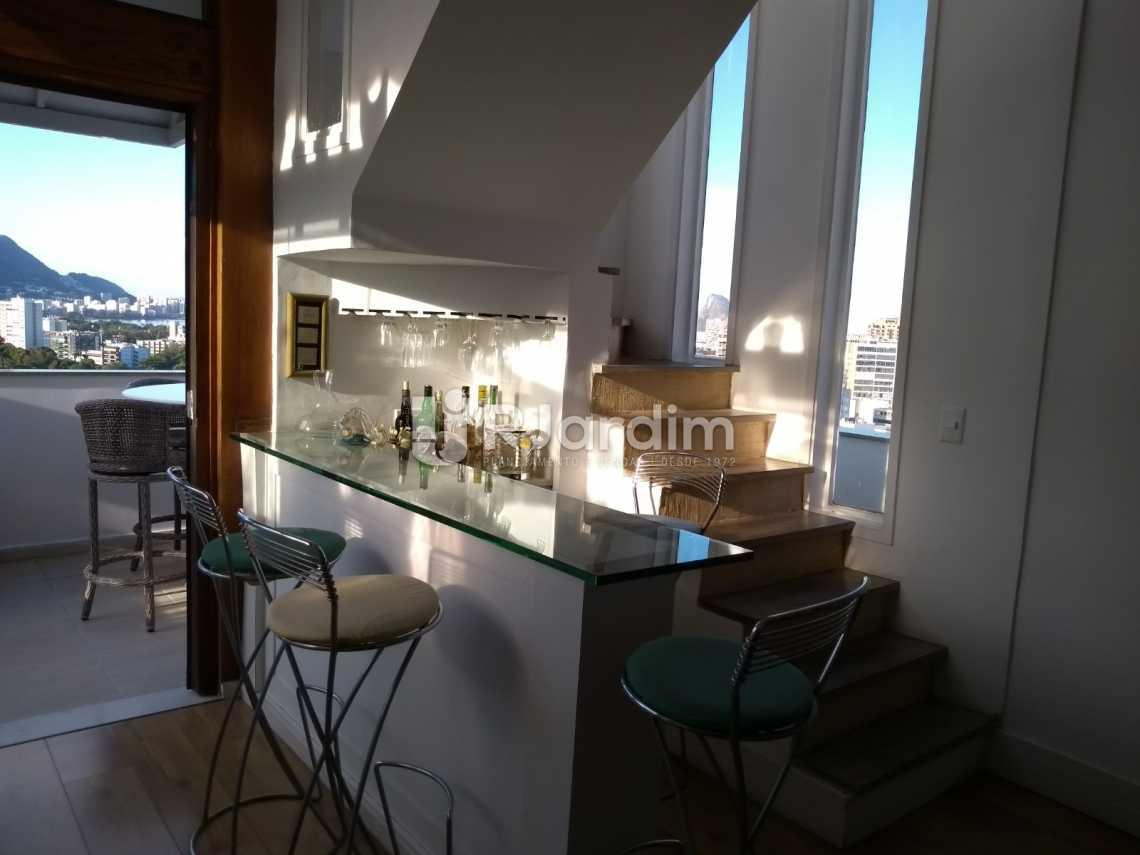 sala/bar - Cobertura À VENDA, Leblon, Rio de Janeiro, RJ - LACO30227 - 15