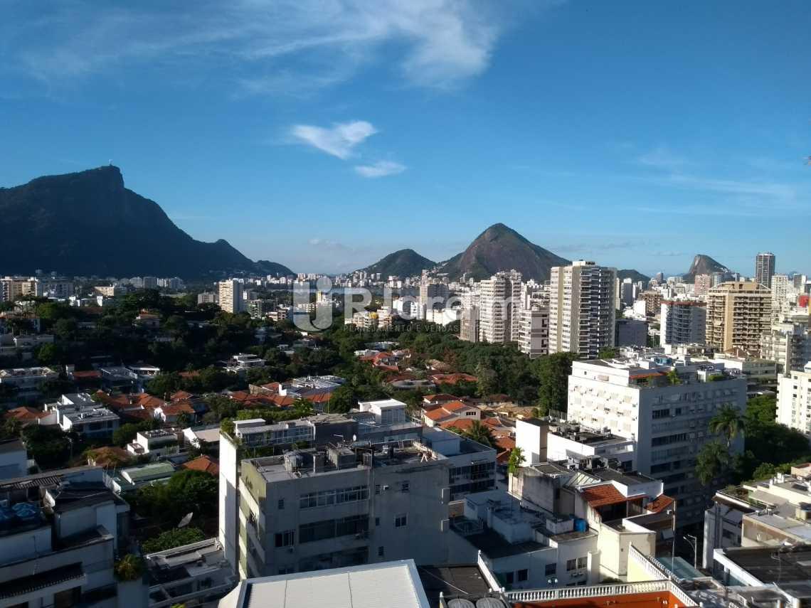 vista /terraço - Cobertura À VENDA, Leblon, Rio de Janeiro, RJ - LACO30227 - 27