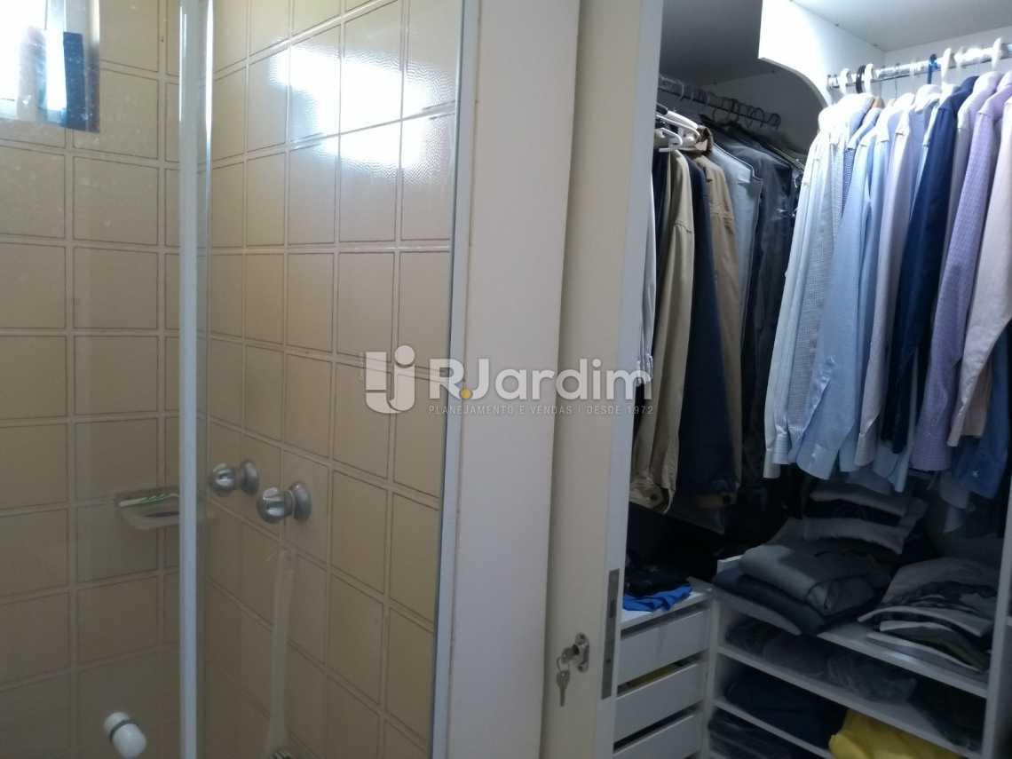 closet/suíte - Cobertura À VENDA, Leblon, Rio de Janeiro, RJ - LACO30227 - 21