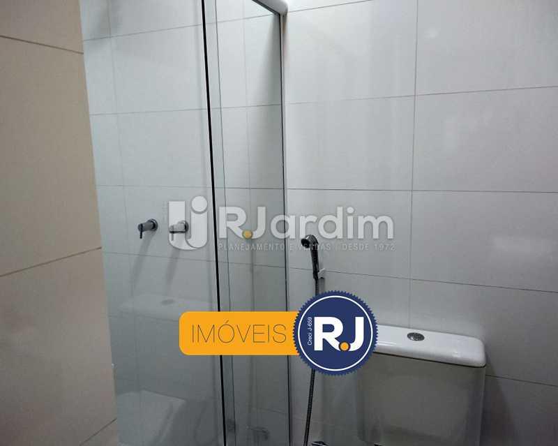 banheiro1 - Apartamento Humaitá 2 Quartos - LAAP21146 - 14