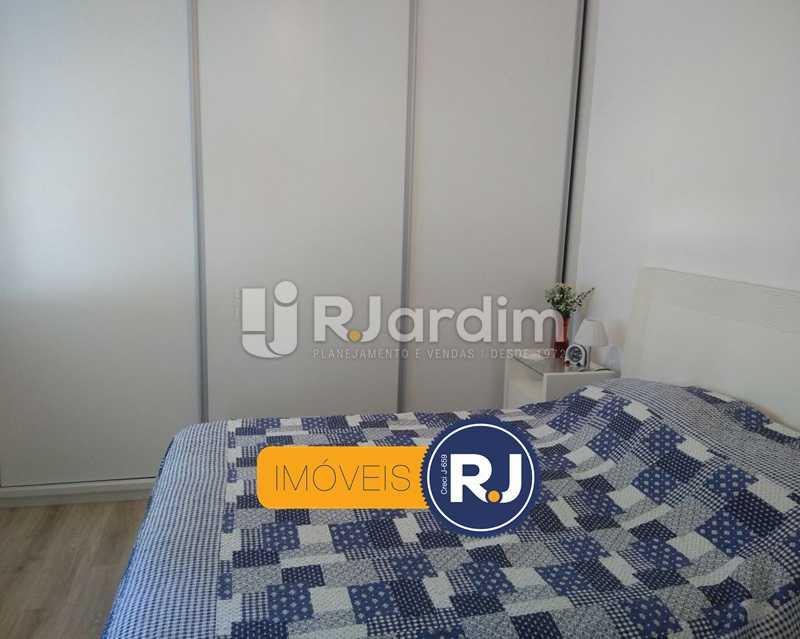 quarto / armários  - Apartamento Humaitá 2 Quartos - LAAP21146 - 9