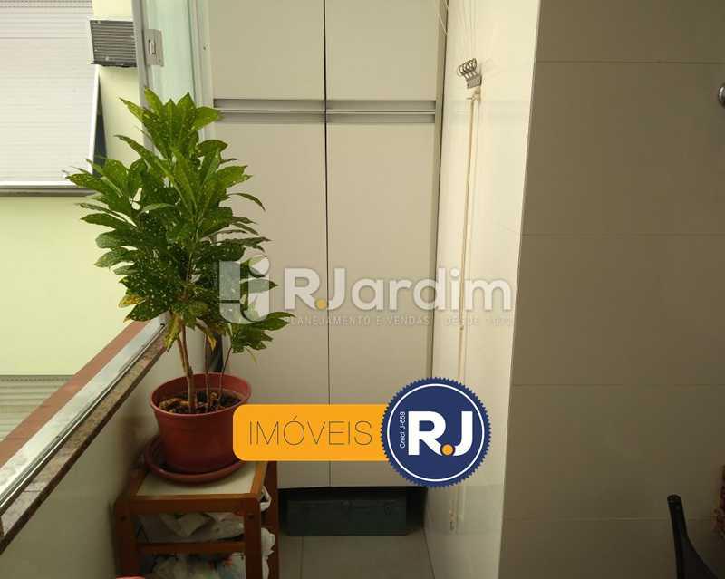área de serviço - Apartamento Humaitá 2 Quartos - LAAP21146 - 26