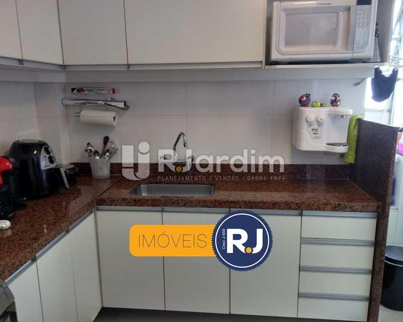 cozinha - Apartamento Humaitá 2 Quartos - LAAP21146 - 18