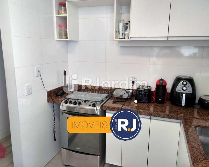 cozinha - Apartamento Humaitá 2 Quartos - LAAP21146 - 20