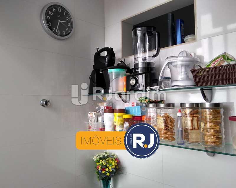 cozinha - Apartamento Humaitá 2 Quartos - LAAP21146 - 23