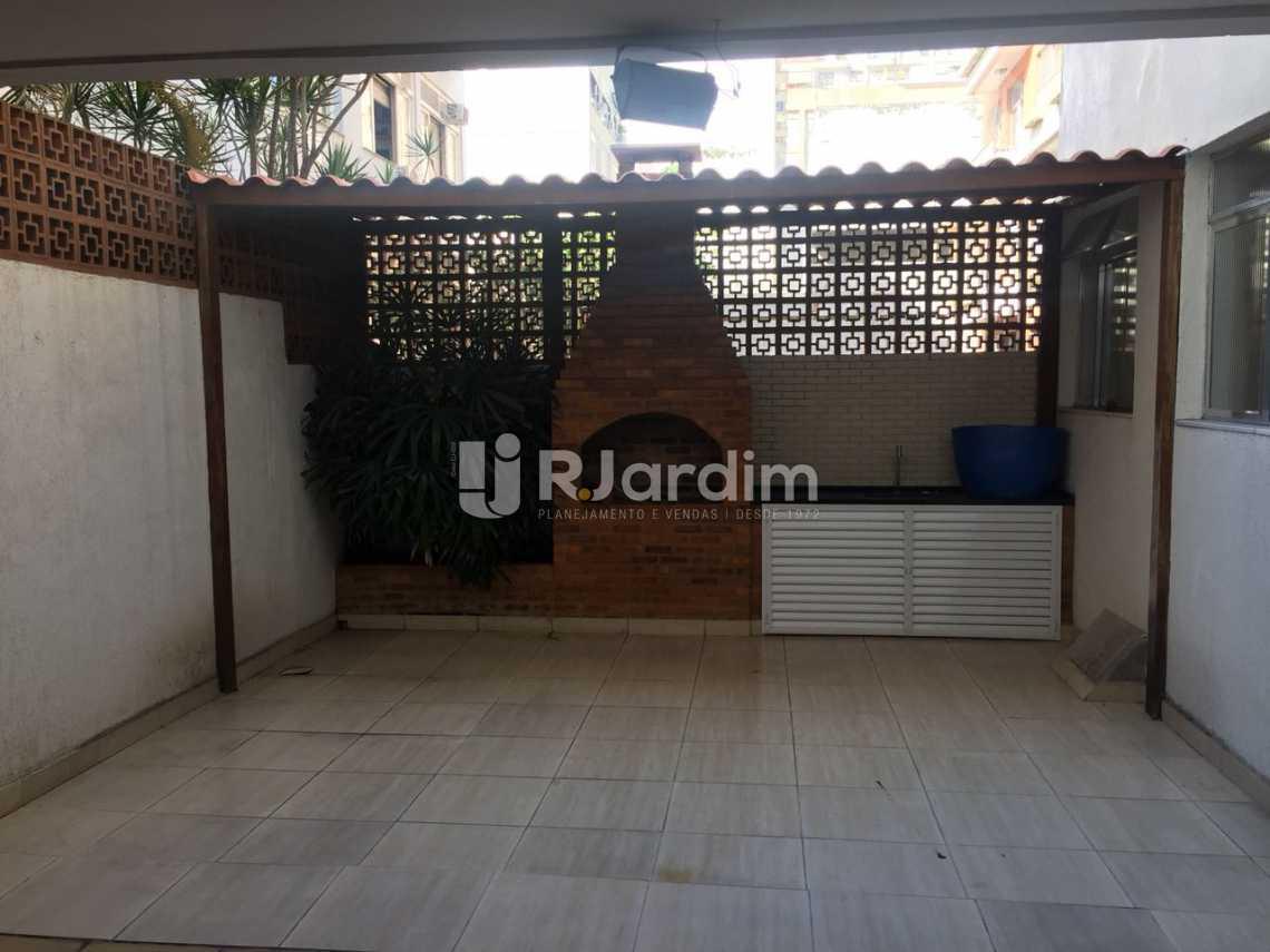 Churrasqueira - Apartamento À VENDA, Ipanema, Rio de Janeiro, RJ - LAAP31630 - 23