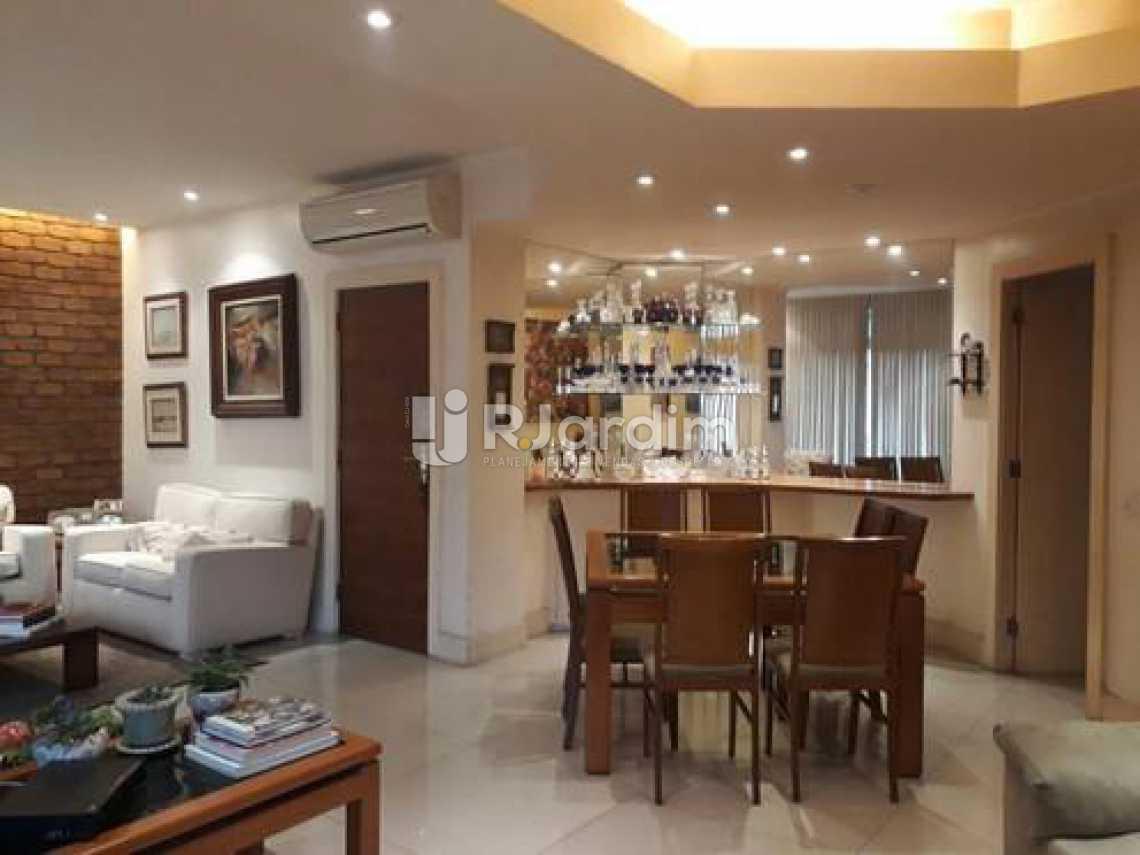 Sala  - Apartamento à venda Avenida Visconde de Albuquerque,Leblon, Zona Sul,Rio de Janeiro - R$ 1.900.000 - LAAP21158 - 4