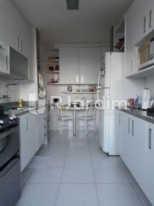 cozinha  - Apartamento à venda Avenida Visconde de Albuquerque,Leblon, Zona Sul,Rio de Janeiro - R$ 1.900.000 - LAAP21158 - 19