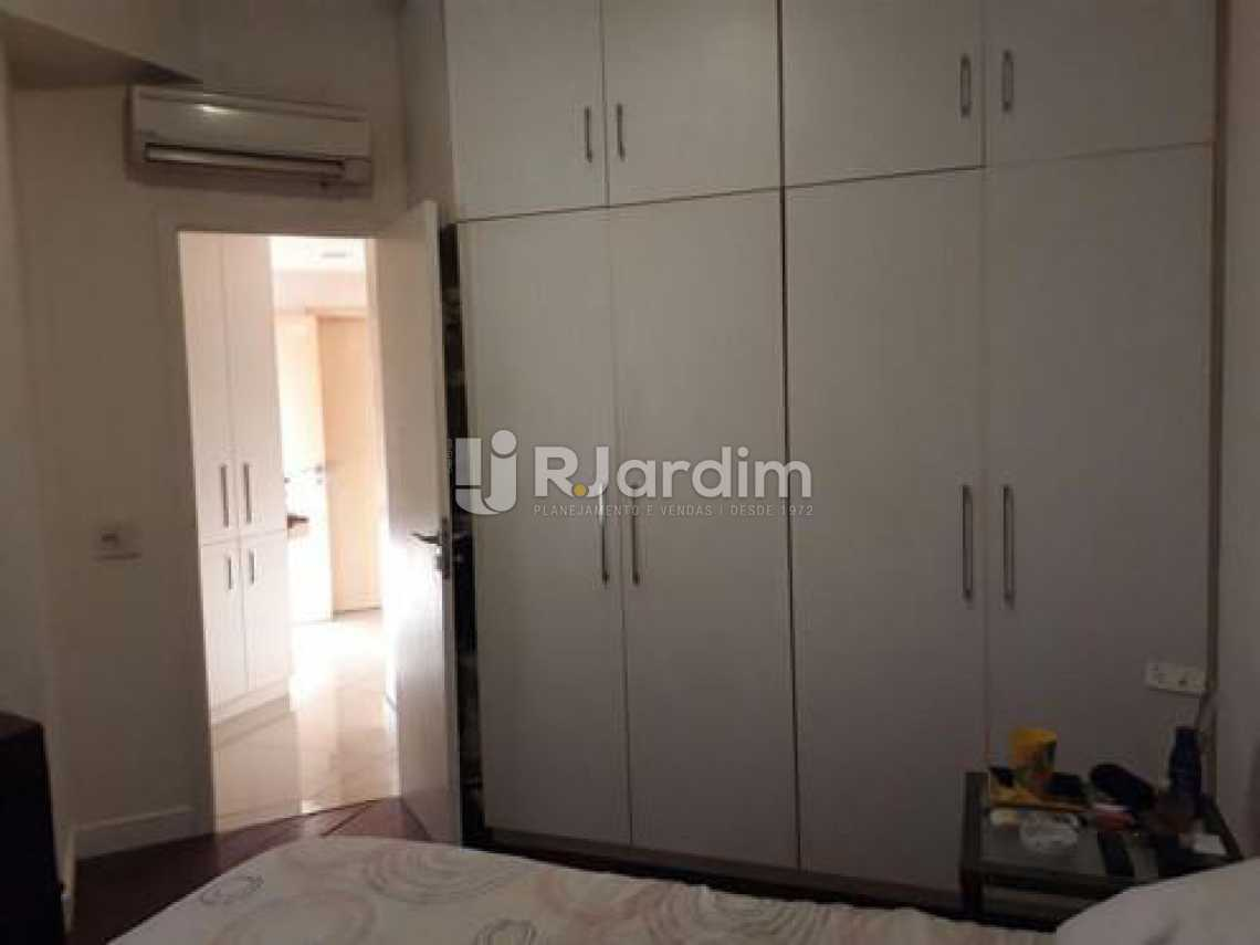 1o Quarto  - Apartamento à venda Avenida Visconde de Albuquerque,Leblon, Zona Sul,Rio de Janeiro - R$ 1.900.000 - LAAP21158 - 12