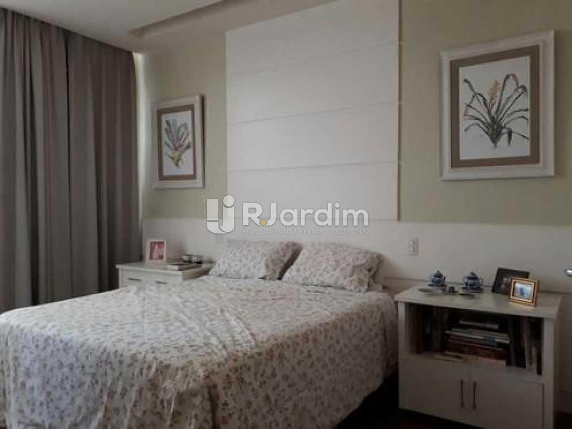 2o Quarto suíte  - Apartamento à venda Avenida Visconde de Albuquerque,Leblon, Zona Sul,Rio de Janeiro - R$ 1.900.000 - LAAP21158 - 14