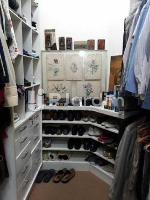 Closet - Apartamento à venda Avenida Visconde de Albuquerque,Leblon, Zona Sul,Rio de Janeiro - R$ 1.900.000 - LAAP21158 - 17