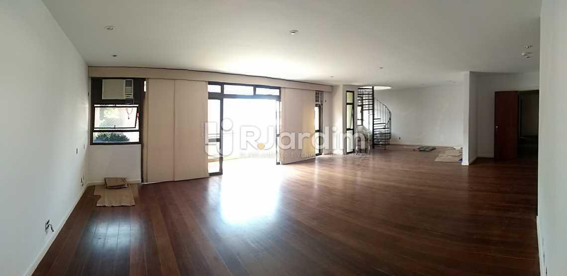 Sala - Imóveis Aluguel Cobertura Leblon 4 quartos - LACO40146 - 3