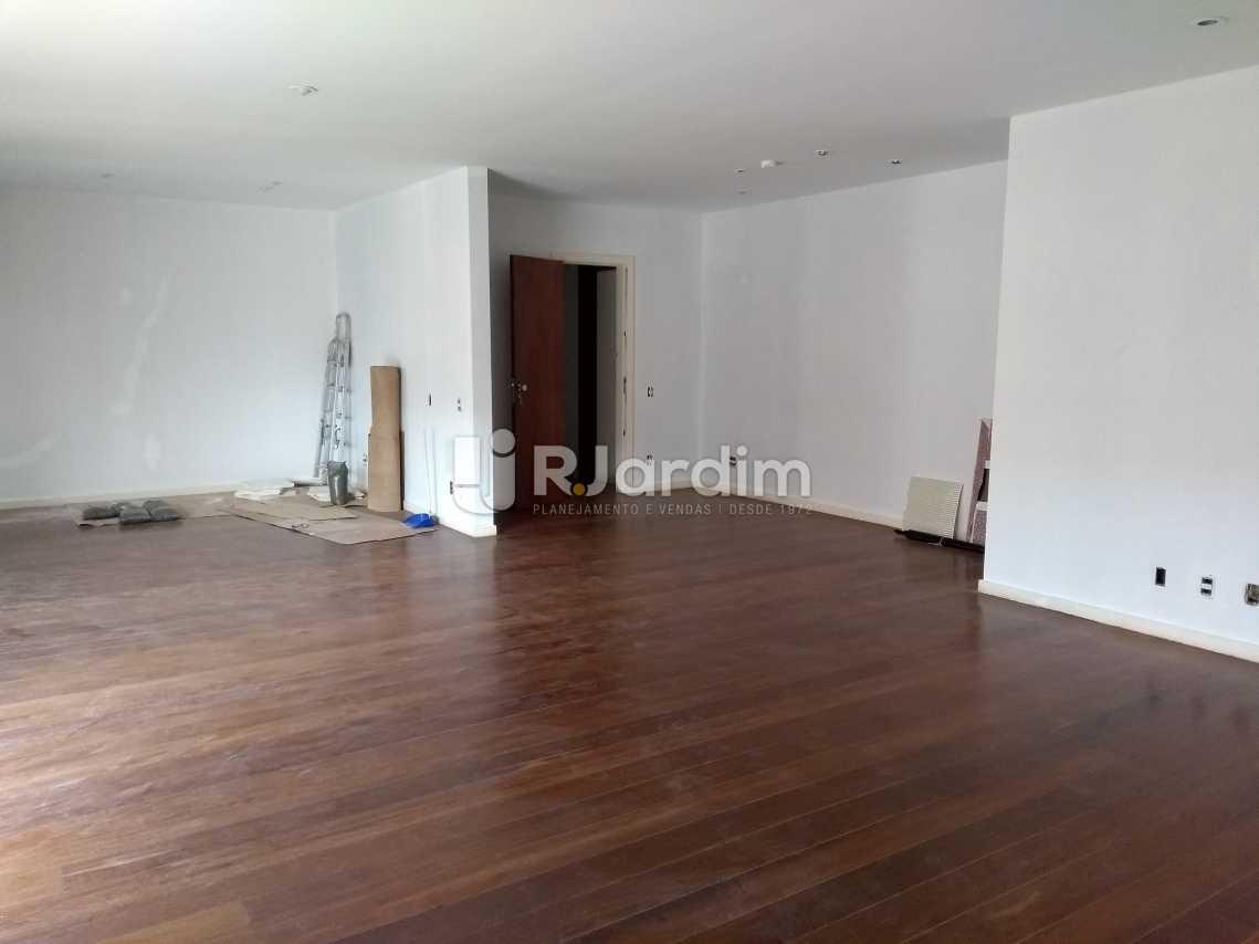 Sala - Imóveis Aluguel Cobertura Leblon 4 quartos - LACO40146 - 4