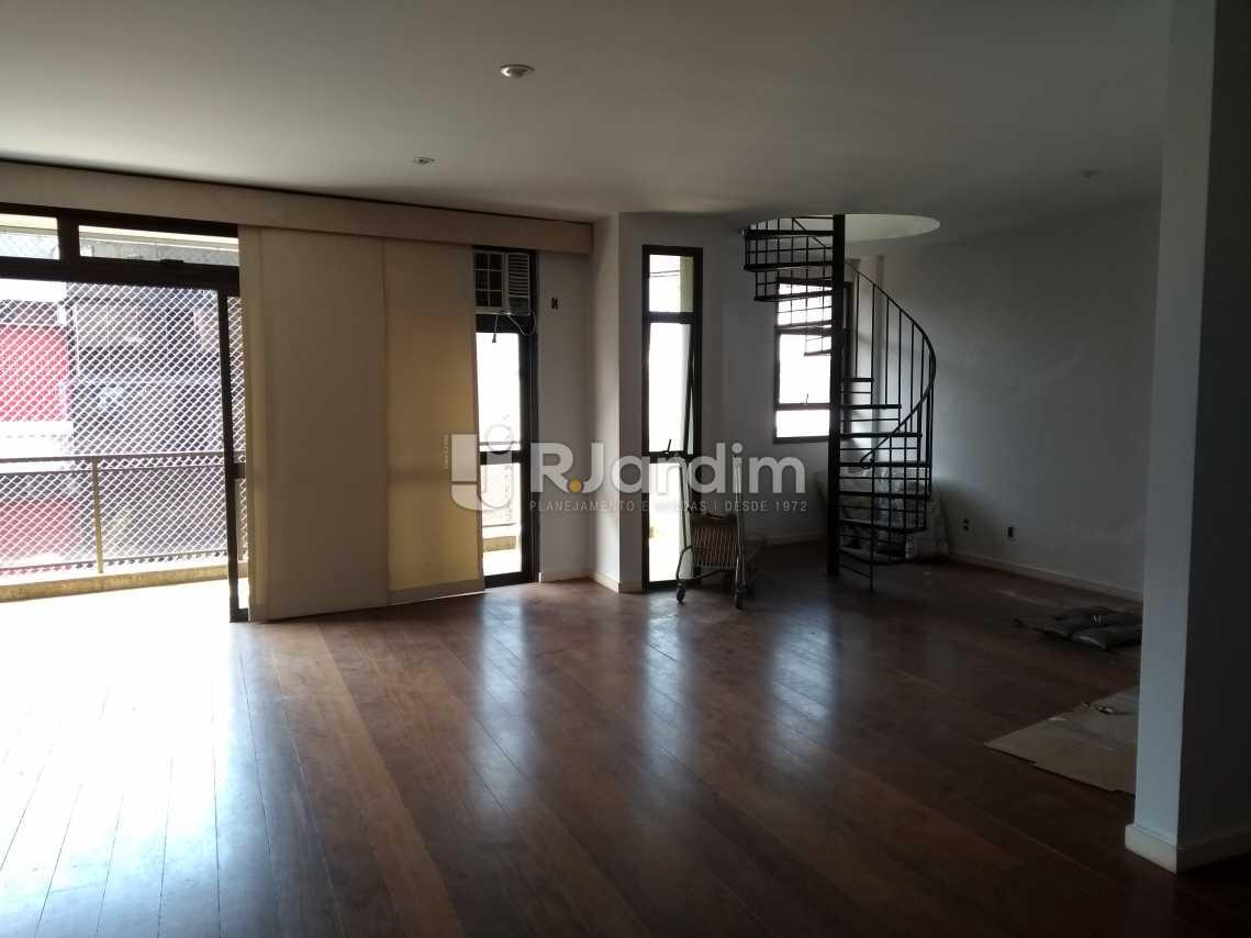 Sala - Imóveis Aluguel Cobertura Leblon 4 quartos - LACO40146 - 5