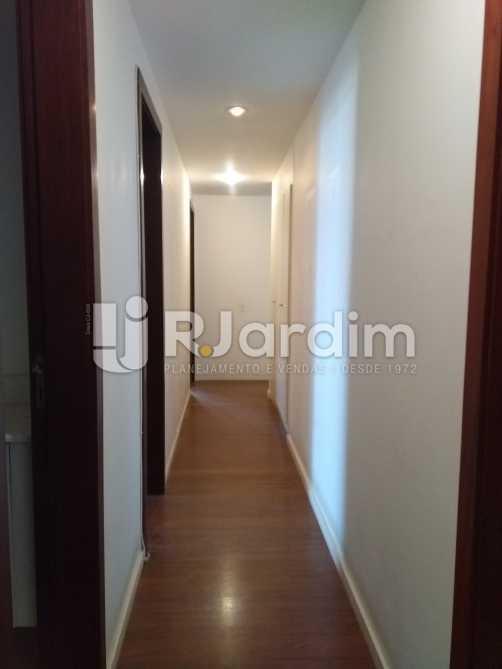 Corredor - Imóveis Aluguel Cobertura Leblon 4 quartos - LACO40146 - 8