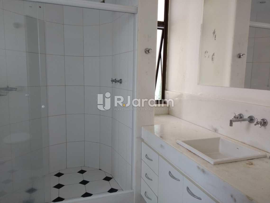 Banheiro Suite - Imóveis Aluguel Cobertura Leblon 4 quartos - LACO40146 - 12