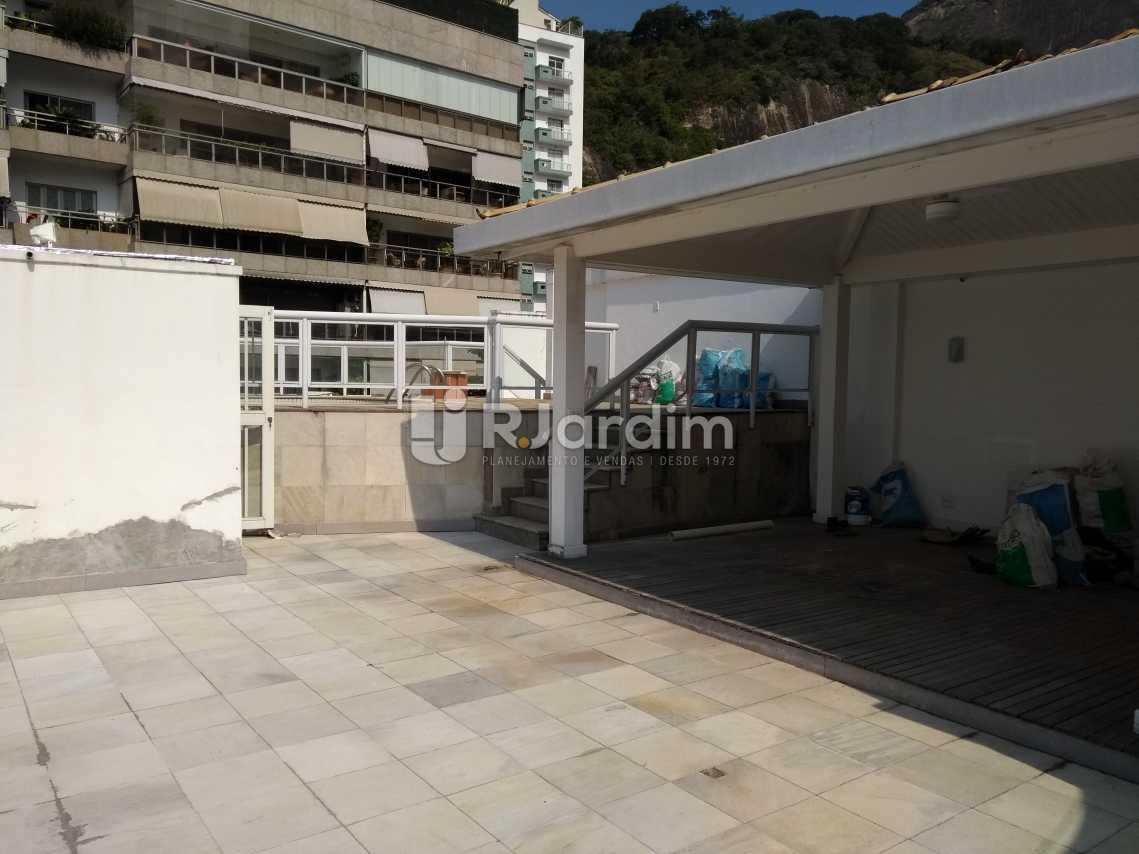 Terraço - Imóveis Aluguel Cobertura Leblon 4 quartos - LACO40146 - 25