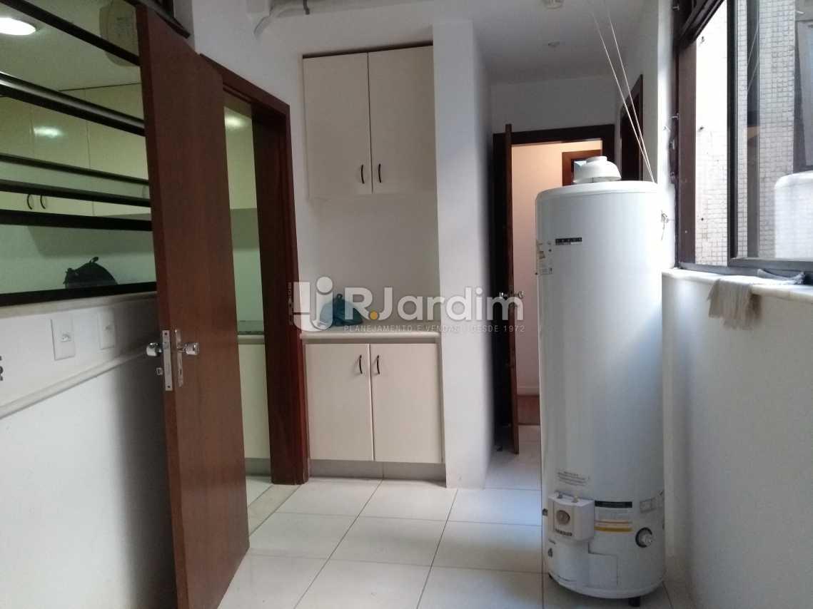 Area de serviço - Imóveis Aluguel Cobertura Leblon 4 quartos - LACO40146 - 28