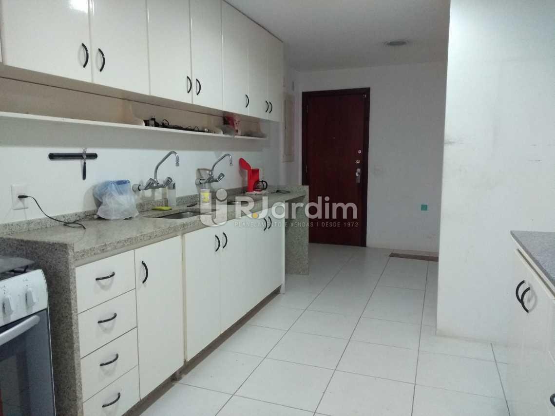 Cozinha - Imóveis Aluguel Cobertura Leblon 4 quartos - LACO40146 - 29