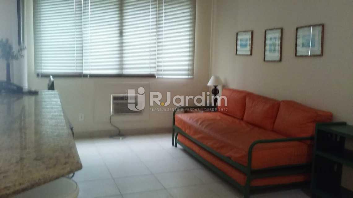 Sala  - Imóveis Aluguel Flat Ipanema 2 Quartos - LAFL20063 - 3