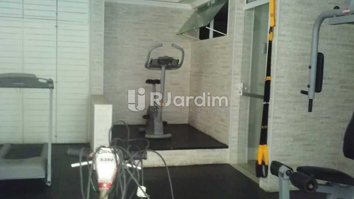 espaço fitness - Aluguel Imóveis Flat Ipanema 2 Quartos - LAFL20064 - 15