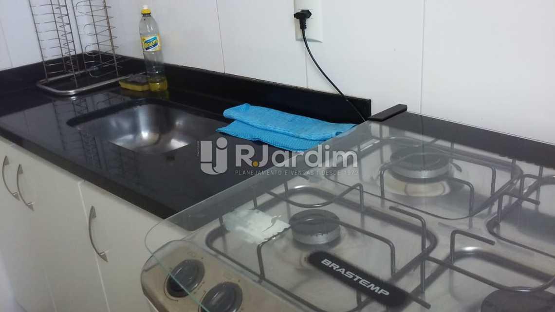 cozinha  - Aluguel Imóveis Flat Ipanema 2 Quartos - LAFL20064 - 13