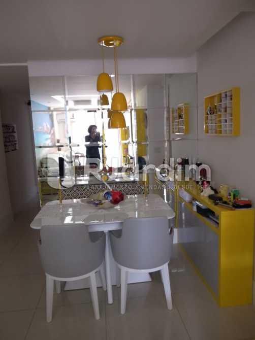 sala de jantar - Compra Venda Avaliação Imóveis Apartamento Botafogo 3 Quartos - LAAP31653 - 6