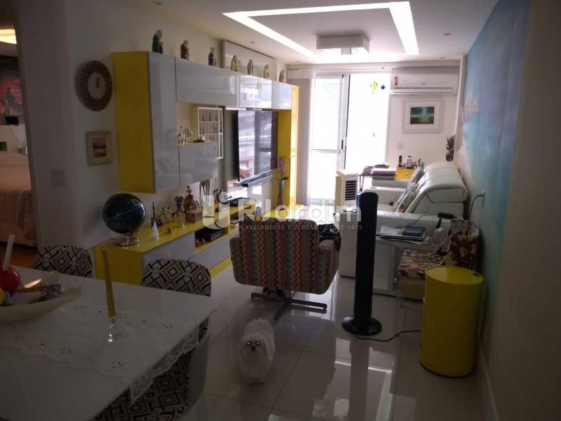 visão geral da sala - Compra Venda Avaliação Imóveis Apartamento Botafogo 3 Quartos - LAAP31653 - 1