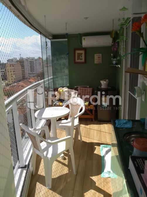 varanda - Compra Venda Avaliação Imóveis Apartamento Botafogo 3 Quartos - LAAP31653 - 3