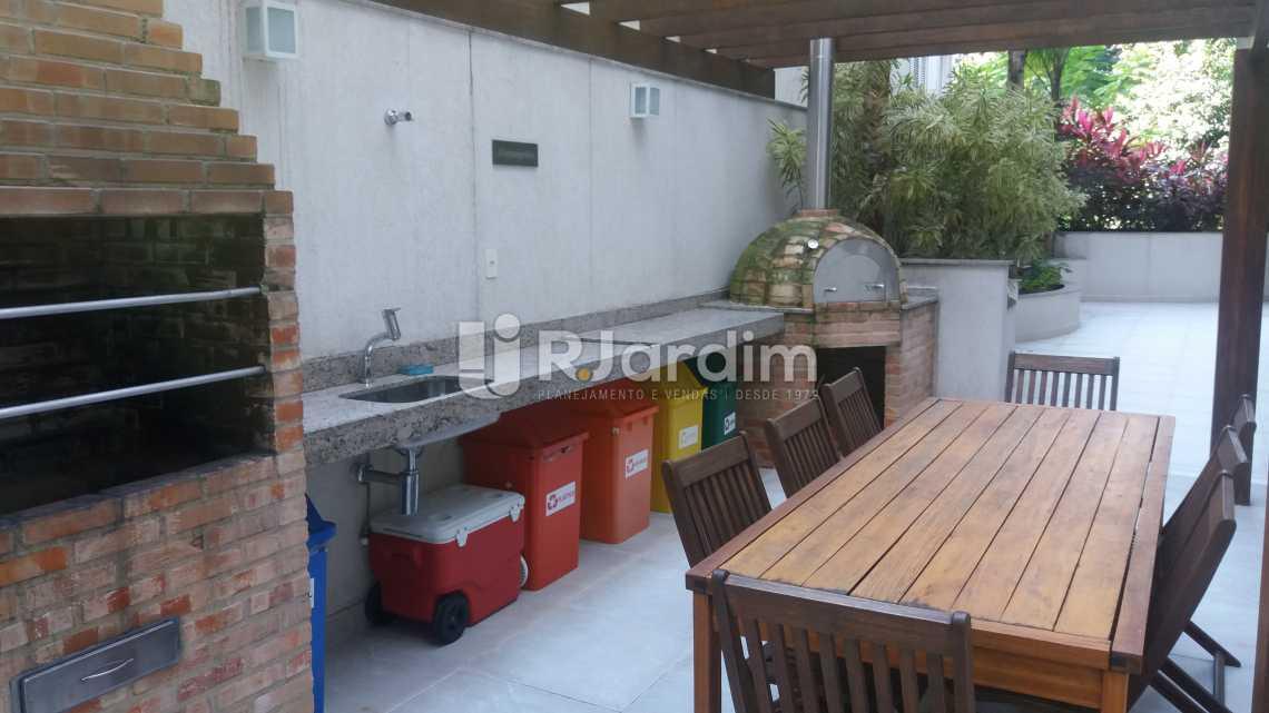 Churrasqueira  - Compra Venda Avaliação Imóveis Apartamento Gávea 3 Quartos - LAAP31667 - 15