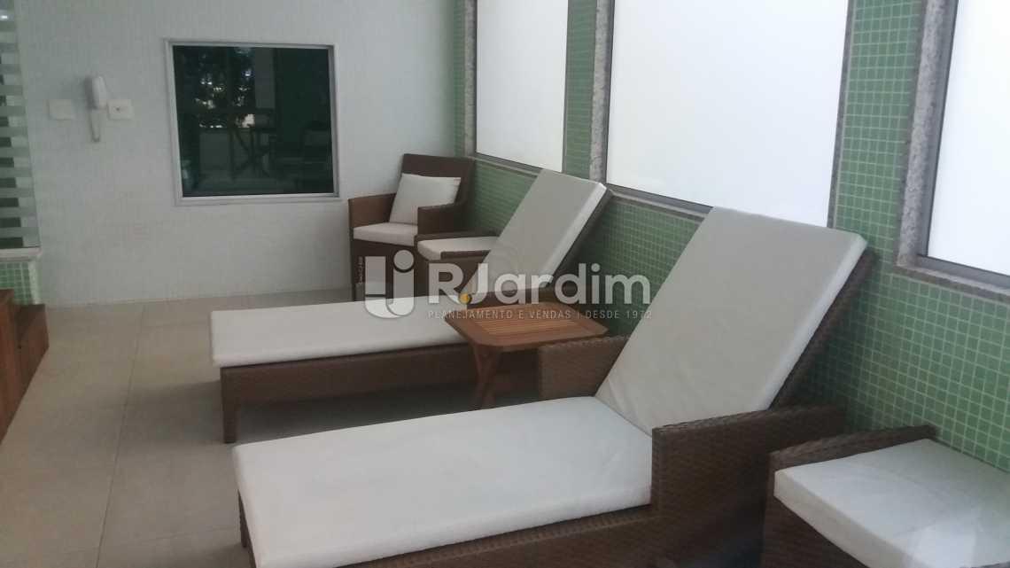 Spa/ sauna - Compra Venda Avaliação Imóveis Apartamento Gávea 3 Quartos - LAAP31667 - 18