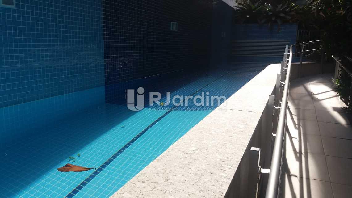 Piscina - Compra Venda Avaliação Imóveis Apartamento Gávea 3 Quartos - LAAP31667 - 22