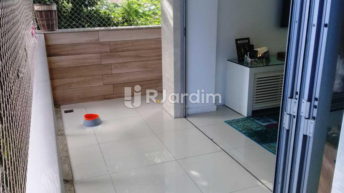 Varanda - Compra Venda Avaliação Imóveis Apartamento Gávea 3 Quartos - LAAP31667 - 13