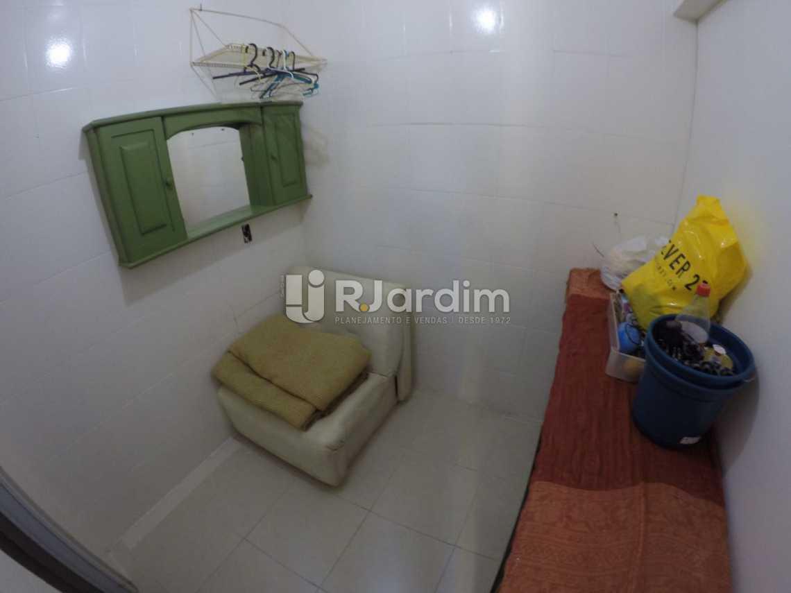 Quarto de serviço - Apartamento 2 quartos à venda Ipanema, Zona Sul,Rio de Janeiro - R$ 685.000 - LAAP21188 - 9