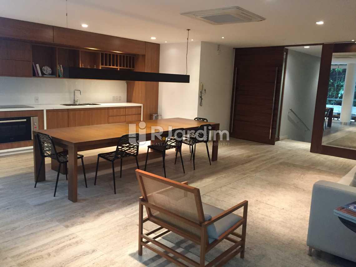 Área de convivência - Apartamento À VENDA, Leblon, Rio de Janeiro, RJ - LAAP21191 - 16