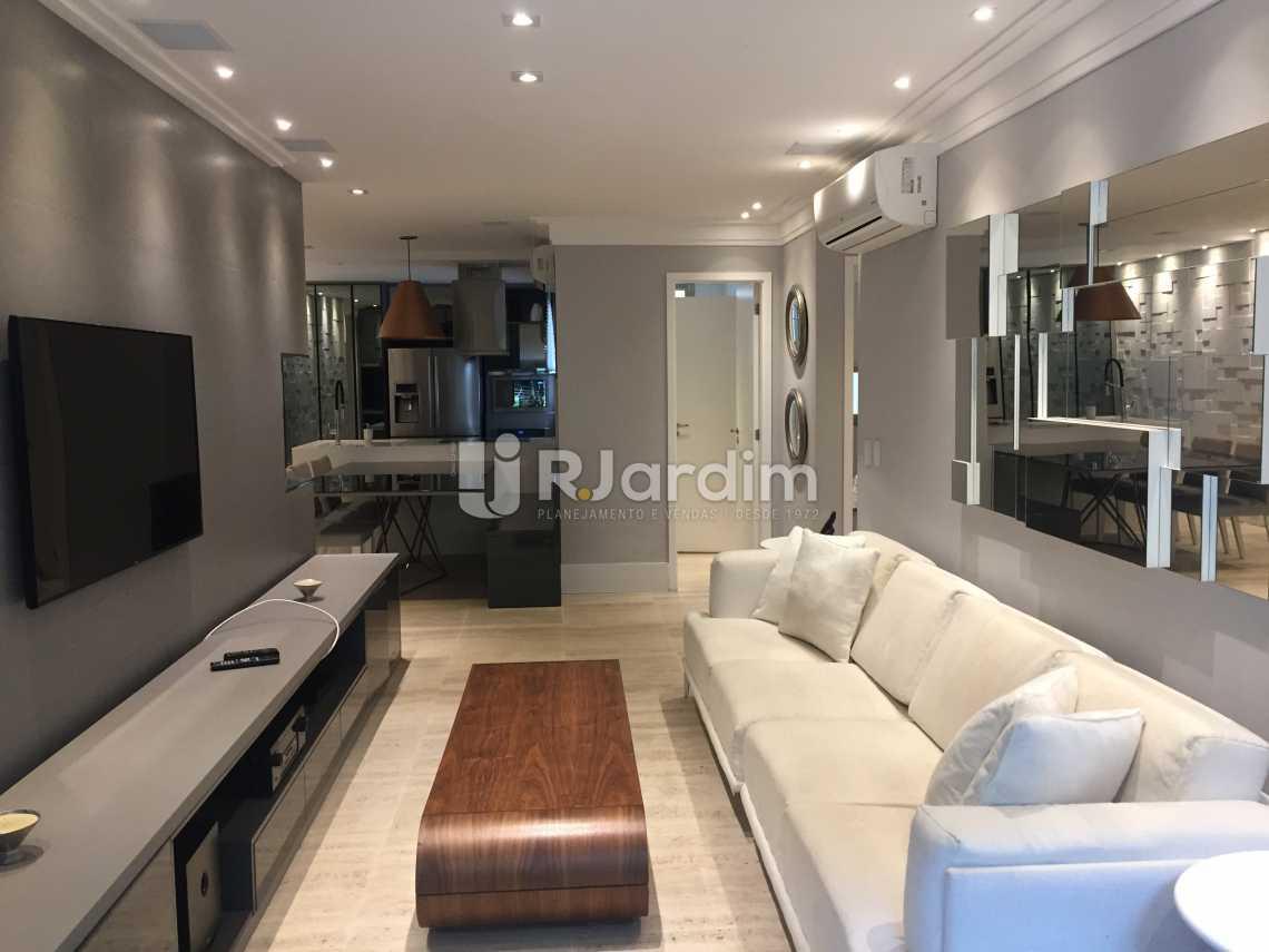 Sala - Apartamento À VENDA, Leblon, Rio de Janeiro, RJ - LAAP21191 - 1