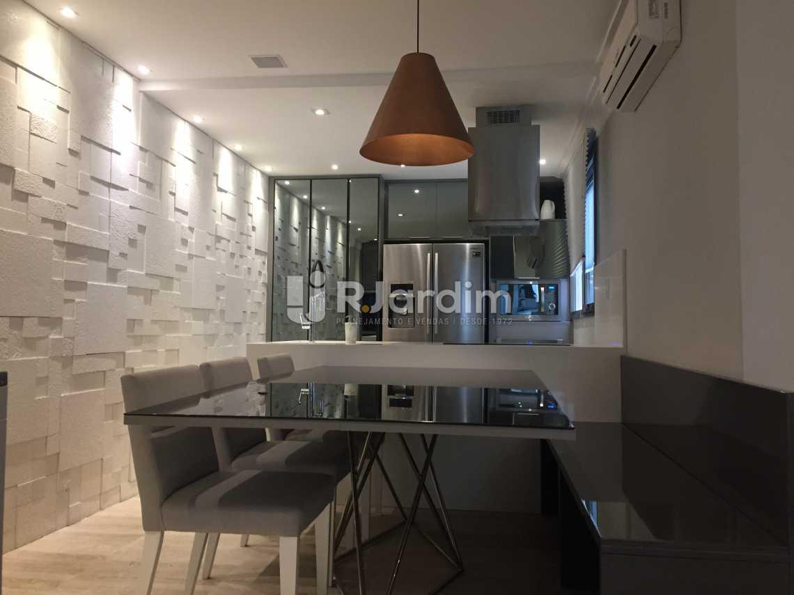 Sala de Jantar - Apartamento À VENDA, Leblon, Rio de Janeiro, RJ - LAAP21191 - 5