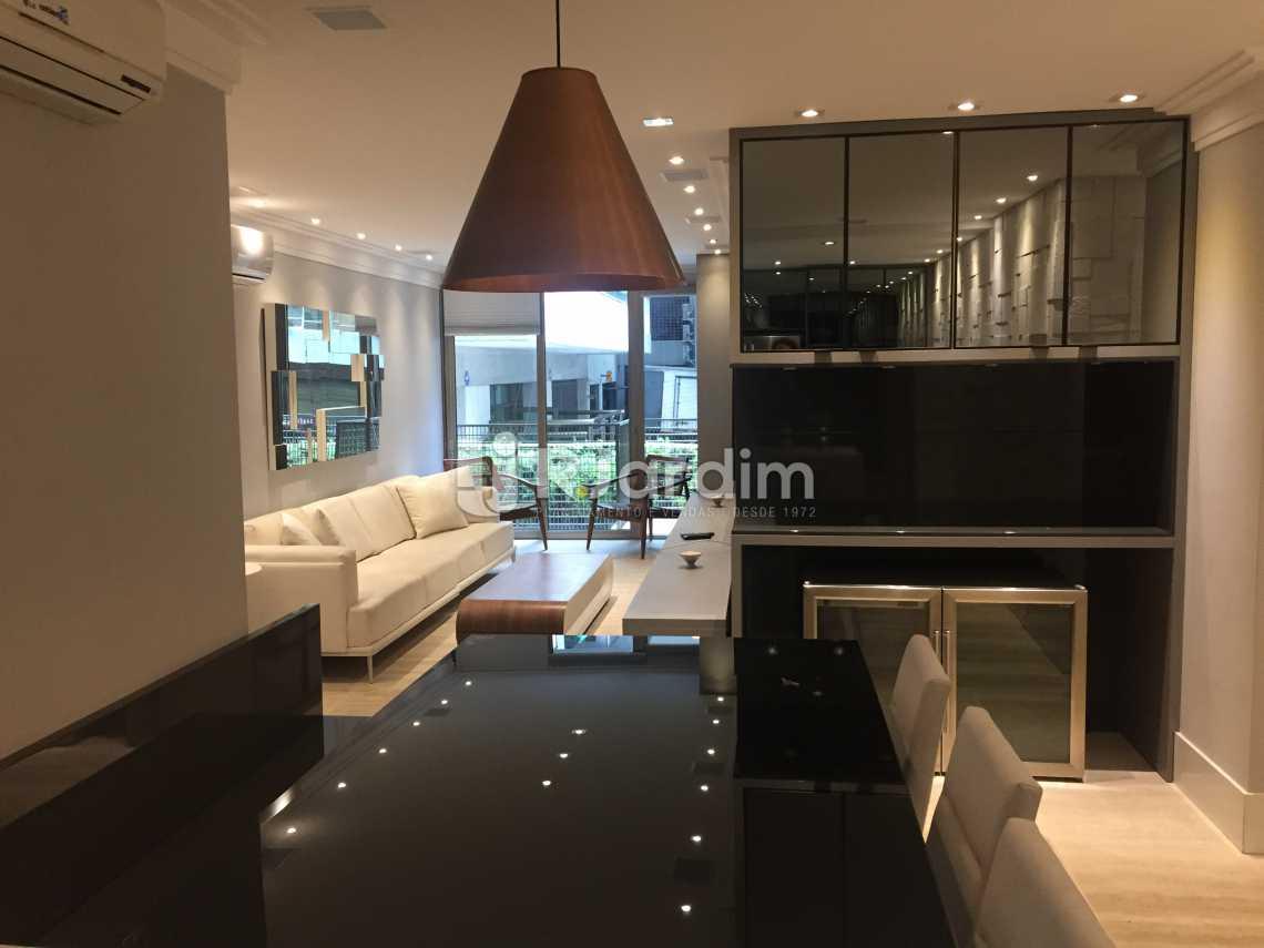 Sala - Apartamento À VENDA, Leblon, Rio de Janeiro, RJ - LAAP21191 - 4