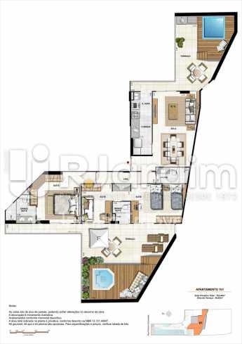 AP101-garden-gourmet - Apartamento 2 quartos à venda Botafogo, Zona Sul,Rio de Janeiro - R$ 1.085.600 - LAAP21192 - 14