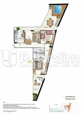 AP202-garden-gourmet - Apartamento 2 quartos à venda Botafogo, Zona Sul,Rio de Janeiro - R$ 1.085.600 - LAAP21192 - 16