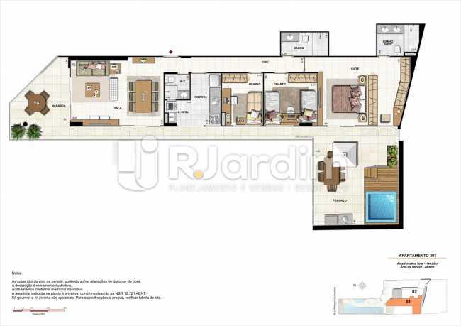 AP301-garden-gourmet - Apartamento 2 quartos à venda Botafogo, Zona Sul,Rio de Janeiro - R$ 1.085.600 - LAAP21192 - 17