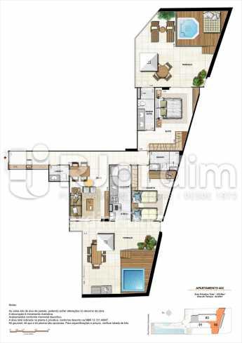 AP402-garden-gourmet - Apartamento 2 quartos à venda Botafogo, Zona Sul,Rio de Janeiro - R$ 1.085.600 - LAAP21192 - 20