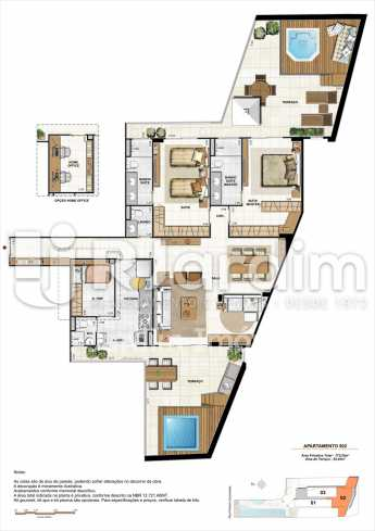AP502-garden-gourmet - Apartamento 2 quartos à venda Botafogo, Zona Sul,Rio de Janeiro - R$ 1.085.600 - LAAP21192 - 23