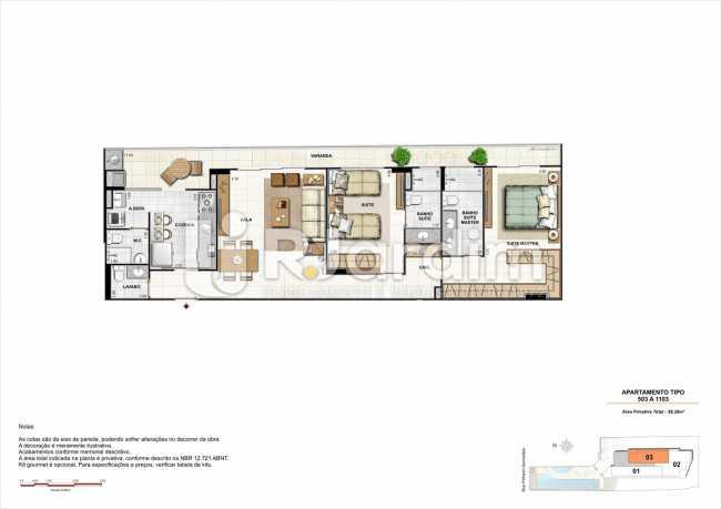 AP503-smart - Apartamento 2 quartos à venda Botafogo, Zona Sul,Rio de Janeiro - R$ 1.085.600 - LAAP21192 - 24