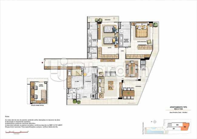 AP602-gourmet - Apartamento 2 quartos à venda Botafogo, Zona Sul,Rio de Janeiro - R$ 1.085.600 - LAAP21192 - 25