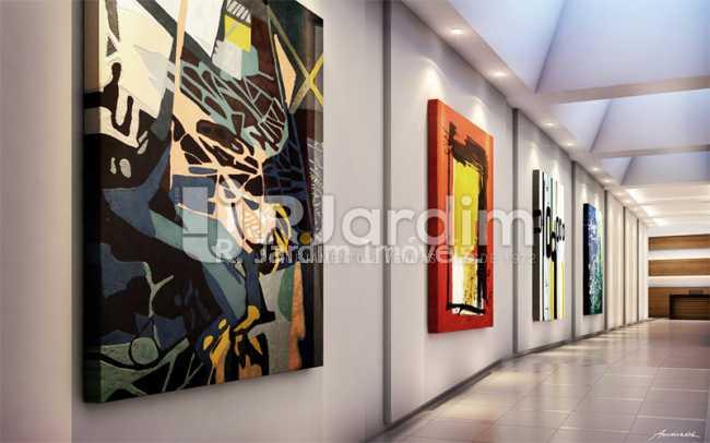 boutique.art.gallery - Apartamento 2 quartos à venda Botafogo, Zona Sul,Rio de Janeiro - R$ 1.085.600 - LAAP21192 - 6