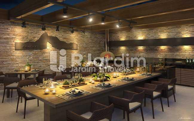 espaco.gourmet - Apartamento 2 quartos à venda Botafogo, Zona Sul,Rio de Janeiro - R$ 1.085.600 - LAAP21192 - 7