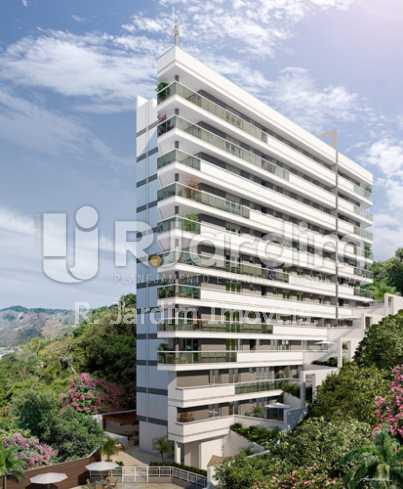 fachada - Apartamento 2 quartos à venda Botafogo, Zona Sul,Rio de Janeiro - R$ 1.085.600 - LAAP21192 - 1